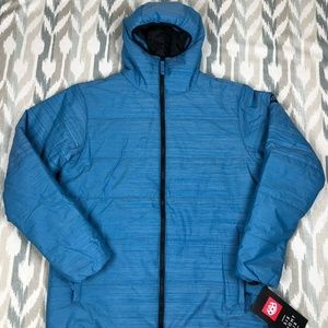 686 Warmix Puffy Snowboard Mens Hooded Jacket